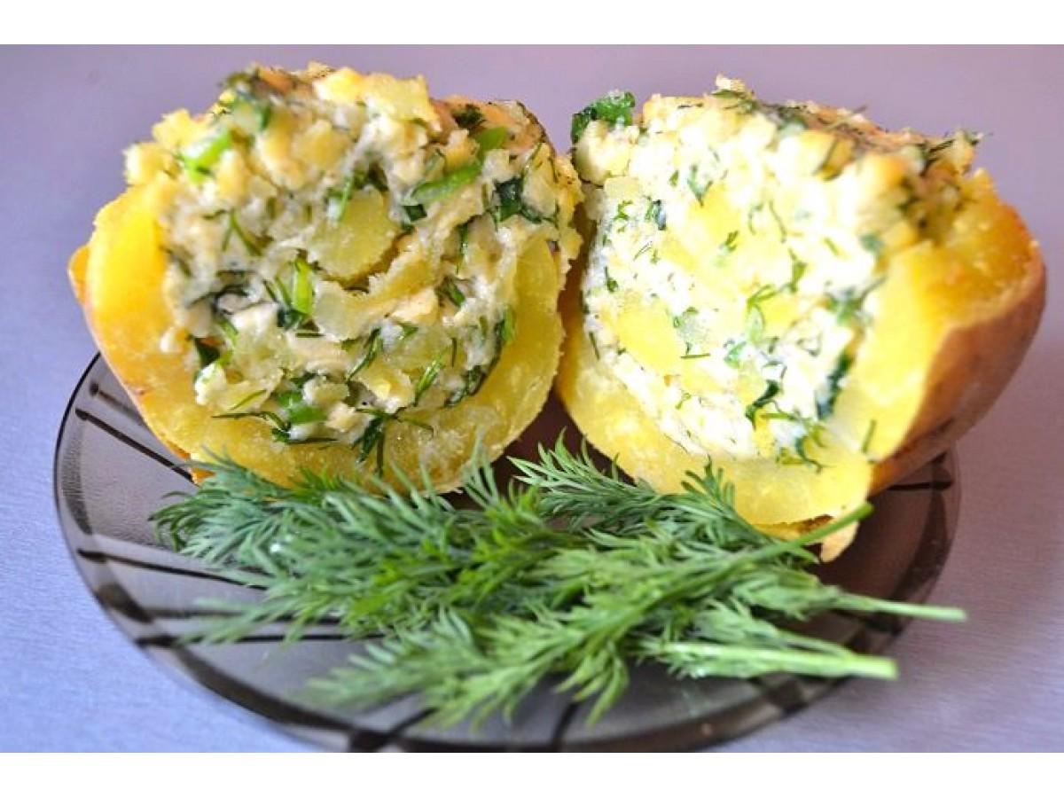 Чудо картошка. Простой рецепт картофеля в духовке.