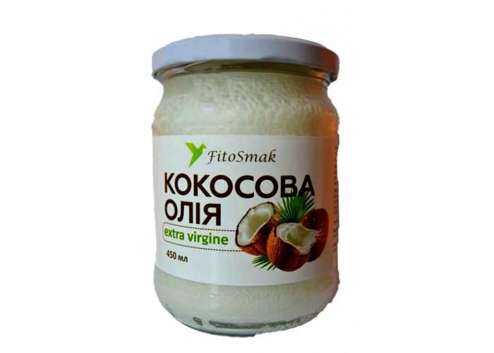 Кокосовое масло холодного отжима 450 мл
